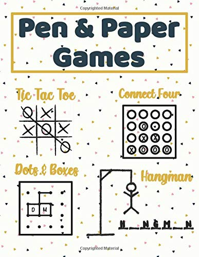 Games like Tic Tac Toe (Pen and Paper Games)
