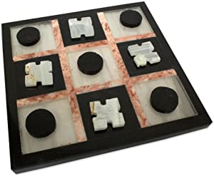Marble Tic Tac Toe (Acrylic Board Game)